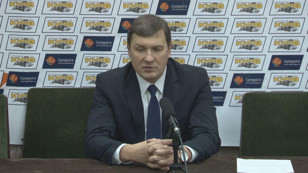 "Press-conference after the game BC ""Kyiv"" vs BC 'Khimik'"