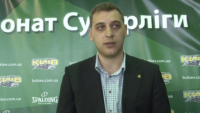 Прес-конференція після матчу БК 'Київ' - БК 'Будівельник'