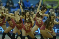 Cheerleaders BC 'Kyiv' while playing with BC 'Dnipro' (11/11/13)