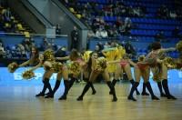 "BC ""Kyiv"" Cheerleaders at the game against BC ""Kormend"""