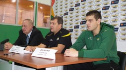 Press conference BC 'Kyiv' before first home game of the season