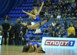 The opening ceremony of the 2013/2014 season in Kiev Sports Palace