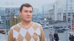 Vitalii Chernii, BC 'Kyiv' Head Coach  interview before the Game against  BC 'Cherkasski Mavpy'