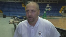 Interview with   BC ' Medias' Head Coach Marchel Tenter before the game in Kyiv
