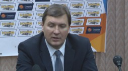 Press conference after the game BC 'Kyiv' - BC 'Dnipro' (11/11/13)