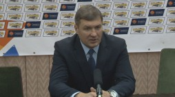 Press conference after the game BC 'Kyiv' - BC 'Dnipro-AZOT' (01/12/13)