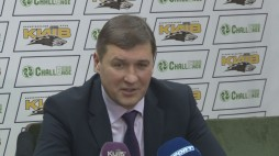 """Press-conference after the game BC """"Kyiv"""" vs. BC """"Triumph"""""""
