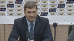 Прес-конференція після гри БК 'Київ' - СК 'Кривбас' (15.12.13)