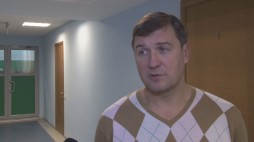 """Vitalii Chernii comments before the game against BC """"Kormend"""""""