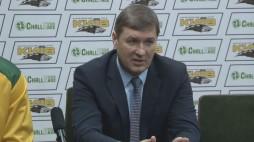 Прес-конференція після гри БК 'Київ' - БК 'Кьорменд'