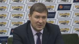 "Press-conference after the game BC ""Kyiv"" vs. BC ""Politechnika-Galychyna"""