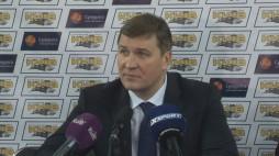 Прес-конференція після гри БК 'Київ' та МБК 'Миколаїв'