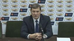 Прес-конференція після матчу БК 'Київ' та БК 'Хімік' (01.02.14)