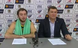 Прес-конференція БК 'Київ' після матчу з 'Дніпром' (05.03.2014)