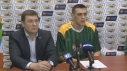 Прес-конференція після гри БК 'Київ'- БК 'Азовмаш'(13.03.14)