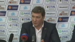 Прес-конференція після гри БК 'Донецьк' - БК 'Київ' (19.03.14)