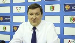 Прес-конференція після гри СК 'Кривбас'- БК 'Київ' (30.03.14)