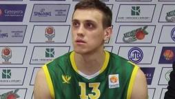Прес-конференція після матчу БК 'Хімік' - БК 'Київ'