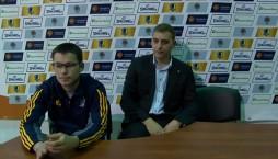 Післяматчева прес-конференція БК 'Київ'